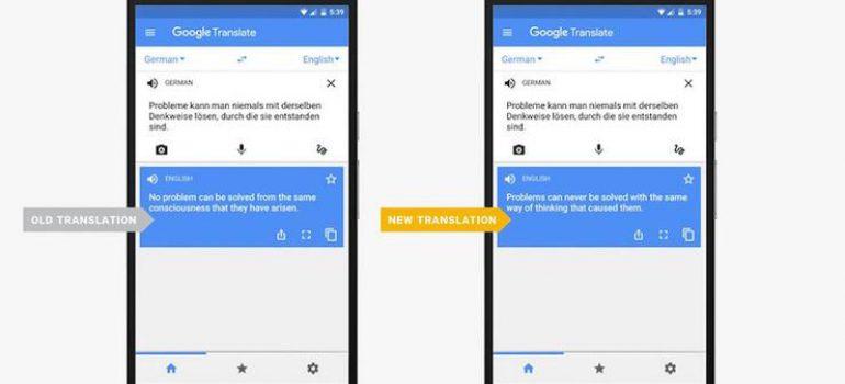 google-neural machine translation