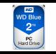 هارد دیسک وسترن آبی Western Digital Blue Edition 2TB