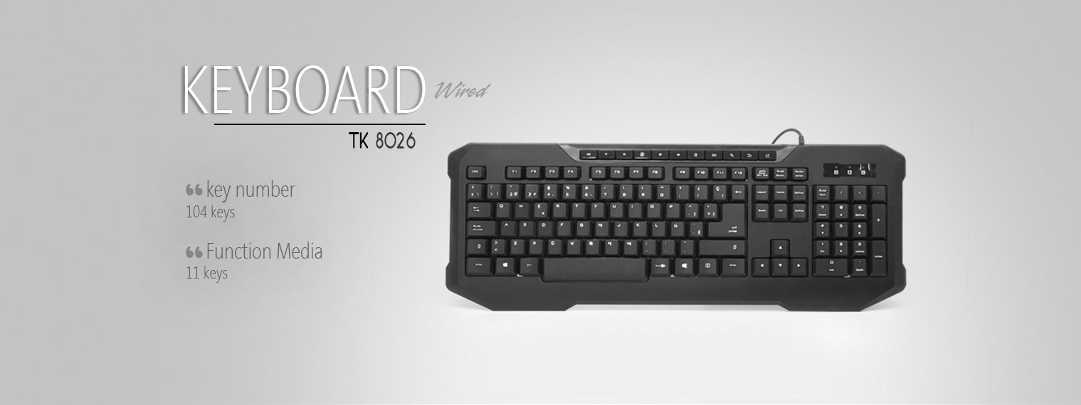 کیبورد تسکو TK 8026