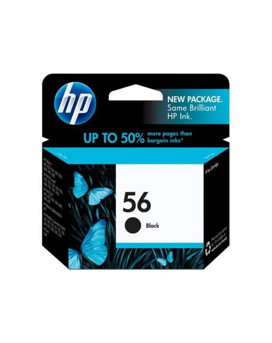 قیمت HP 56 Black Cartridge