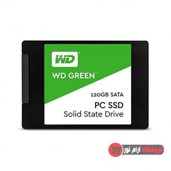 هارد SSD وسترن دیجیتال مدل GREEN WDS120G1G0A ظرفیت 120 گیگابایت