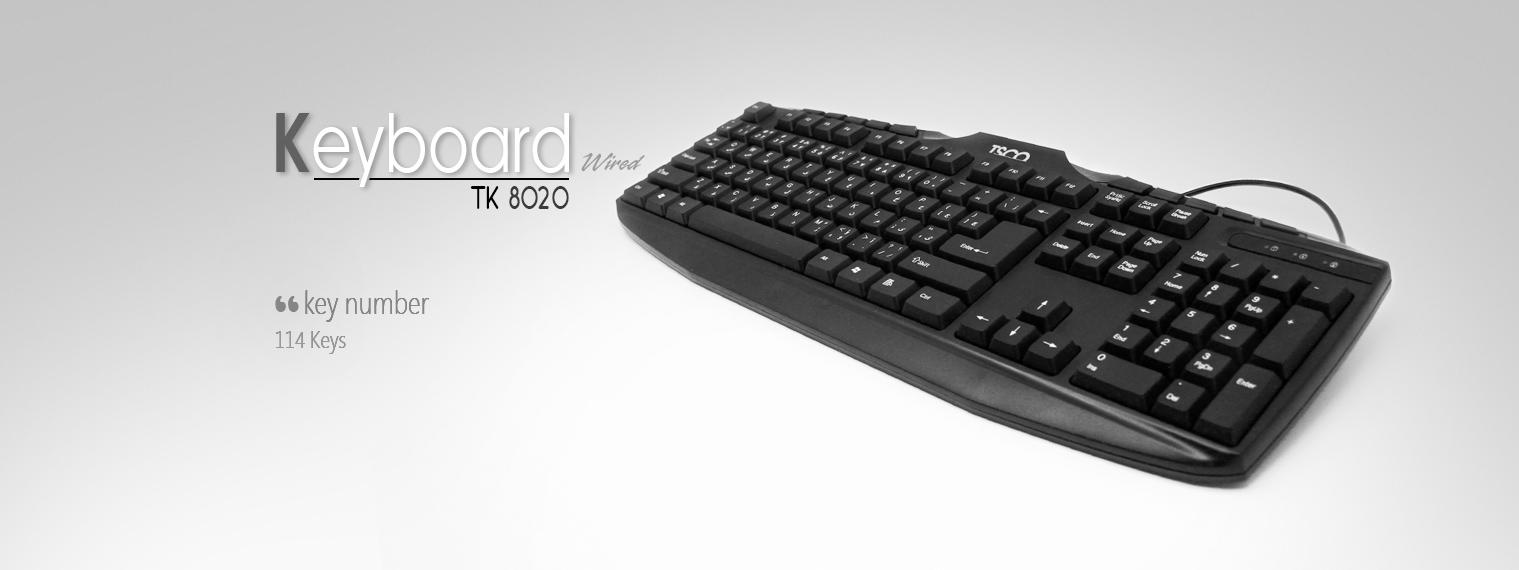 فروش کیبورد تسکو مدل TK 8020