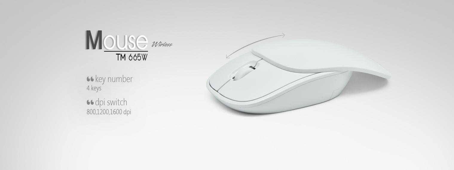 فروش ماوس بیسیم تسکو مدل TM 665W