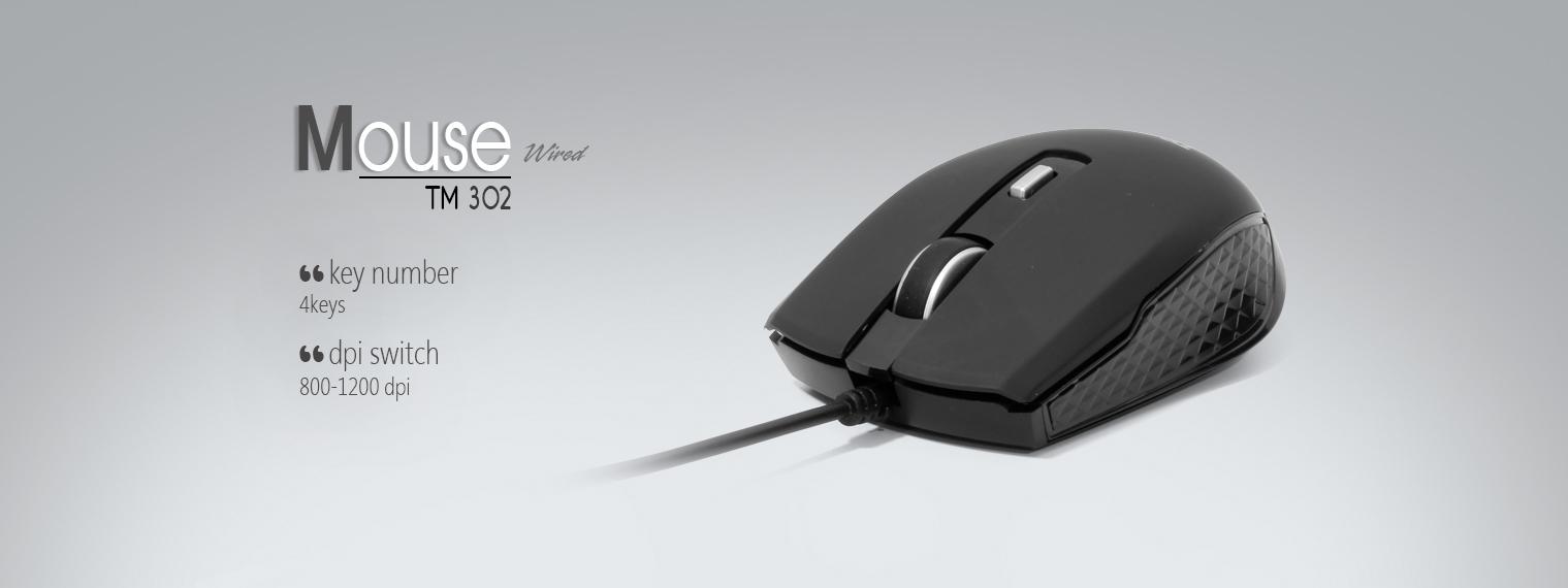 فروش ماوس تسکو مدل TM 302