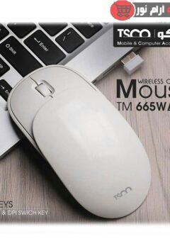 ماوس بیسیم تسکو مدل TM 665W
