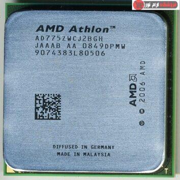 سی پی یو AMD Athlon 64 X2 7750 2.7GHz Black edition - AM2 (استوک)